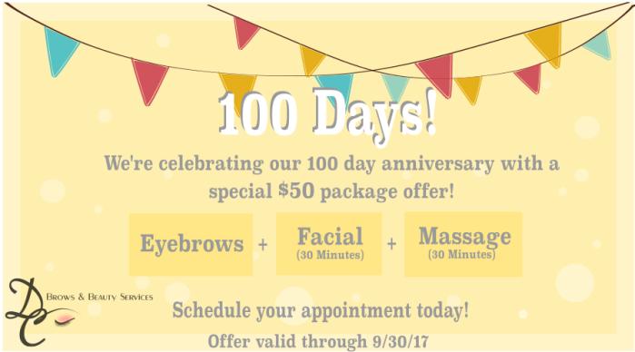 100 Days deal